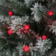 10m Outdoor Christmas Tree Berry Fairy Lights, 100 LEDs