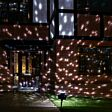 Outdoor Snowfall Projector, White and Warm White LEDs