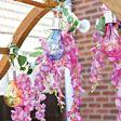 Solar Hanging Festoon Bulb, Multi Coloured, 4 Pack, 15cm