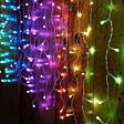 2.5m x 0.8m Smart App Controlled Twinkly Curtain Icicle lights