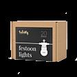 Smart App Controlled Twinkly Festoon Lights - Gen II