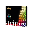 20m Smart App Controlled Twinkly Christmas Fairy Lights, Black Cable, Special Edition - Gen II