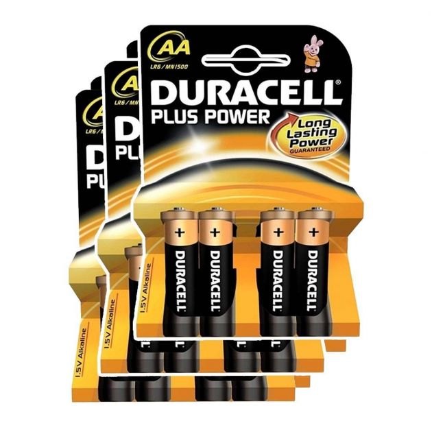 Duracell Alkaline Batteries - AA Pack of 12