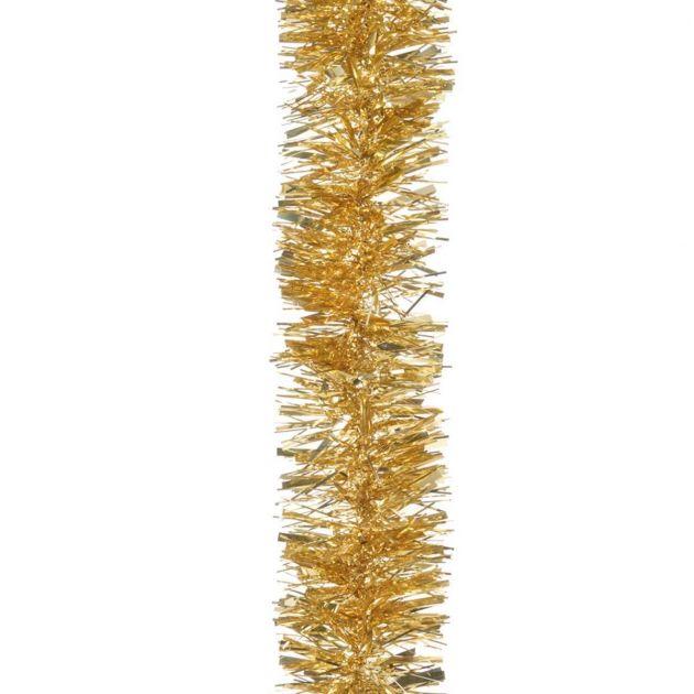 2m x 100mm Chunky Cut Tinsel - Gold