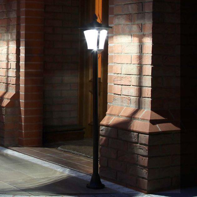 Solar Security Lamp Post, 1.2m