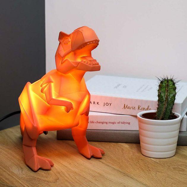 Plug In Origami T Rex Dinosaur Children's Night Light