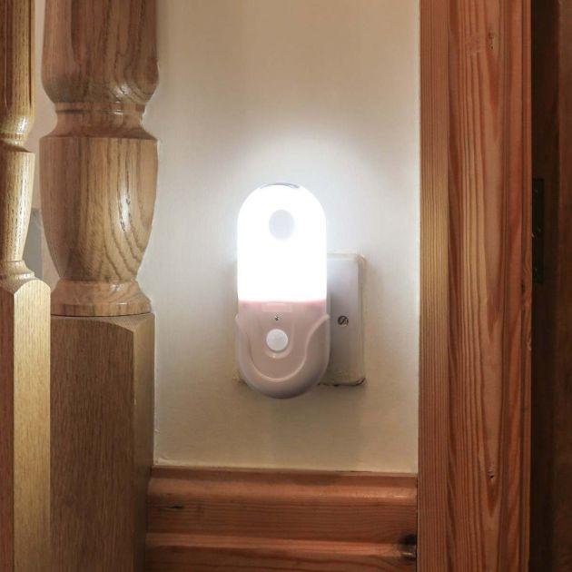 Plug In Portable Night Light with Motion Sensor