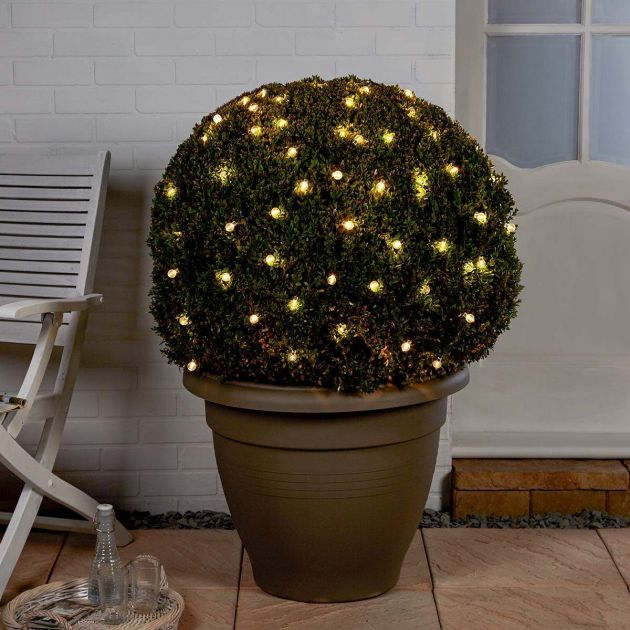 5m Solar Multi Function Clear Berry Fairy Lights