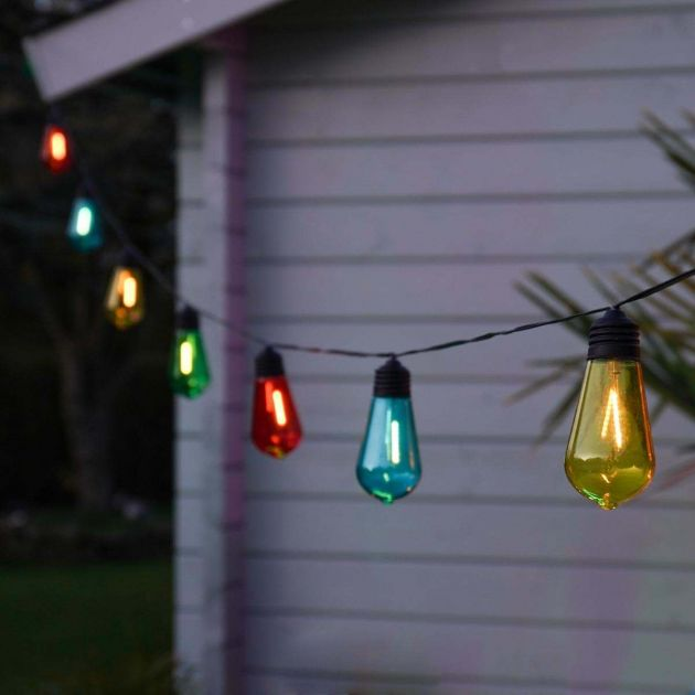 Solar Filament Effect LED Festoon Lights