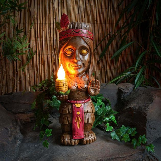 Solar Tiki Female Figure