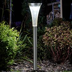 Solar Stainless Steel Sirius Stake Light