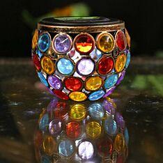 Solar Gem Jar Table Lantern
