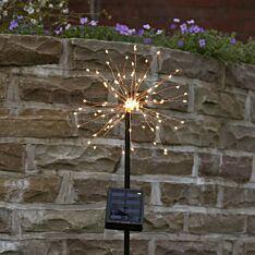 Solar Firefly Starburst Stake Light