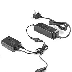 Large Transformer, UK Plug, Black Cable