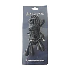 10m Black Extension Cable for all FairyBell Trees