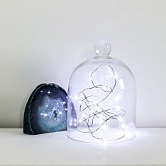 2m Battery Black Firefly Wire Fairy Lights, 20 LEDs
