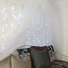 2m x 2.5m Outdoor Curtain Light, Connectable, 500 LEDs