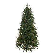 6ft Pre Lit Pennine Christmas Tree, 180 Warm White LEDs