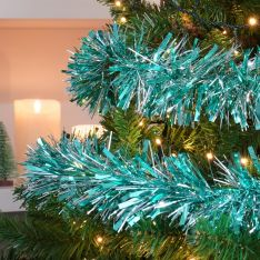 2m Tinsel Christmas Tree Decoration