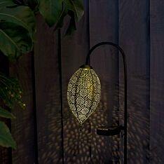 Solar Moroccan Gold Stake Light