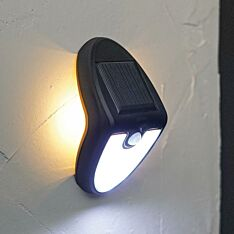 Solar Security Welcome Light with PIR