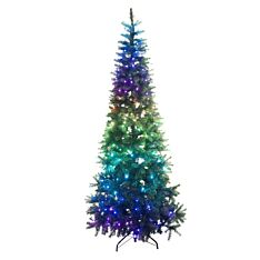 7ft Smart App Controlled Pre Lit Twinkly Christmas Tree