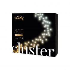 6m Smart App Controlled Twinkly Christmas Cluster Lights, Gold Edition - Gen II