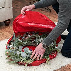 46cm Medium Christmas Wreath Storage Bag