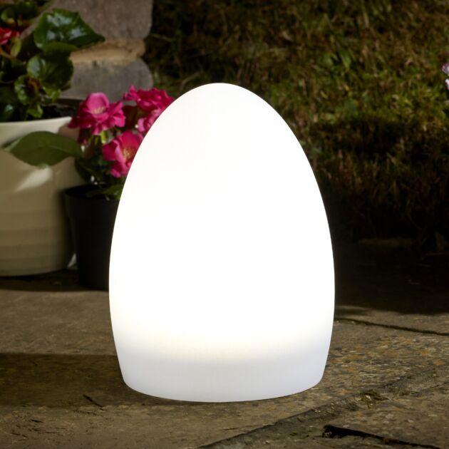 Solar and USB Lunière Oval Orb Lantern
