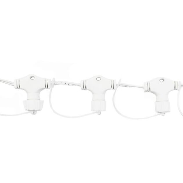 10 Port White Curtain Connector, Connectable