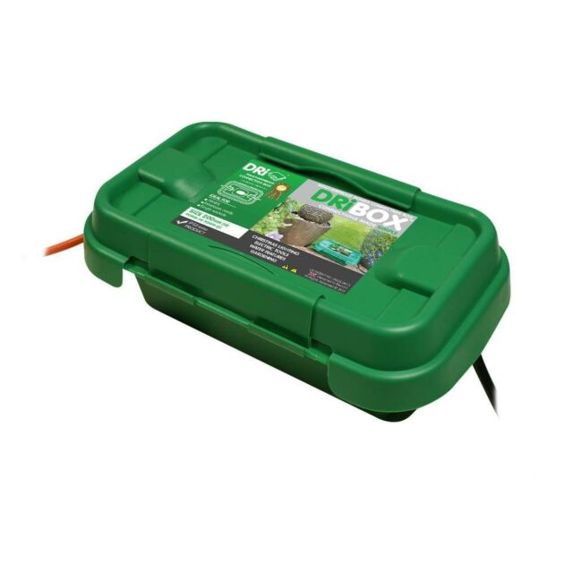 Dribox Weatherproof Small Connection Box Green Edition