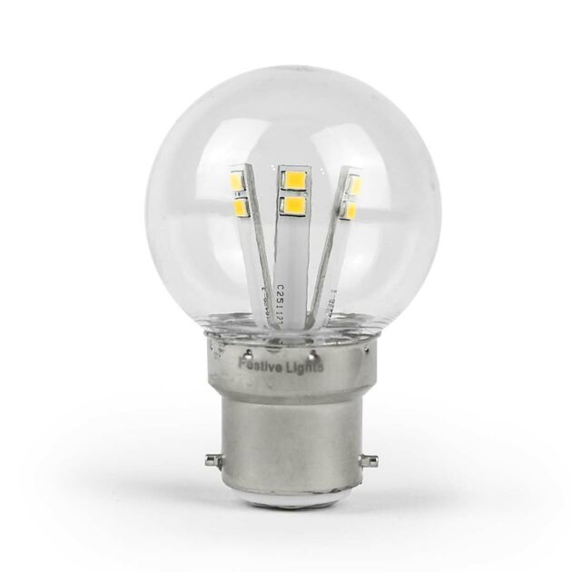 FestoonPro B22 LED High Power Coloured Festoon Bulb