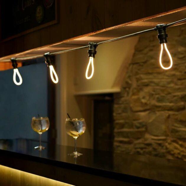4W E27 Filament Style, Warm White LED Light Bulb