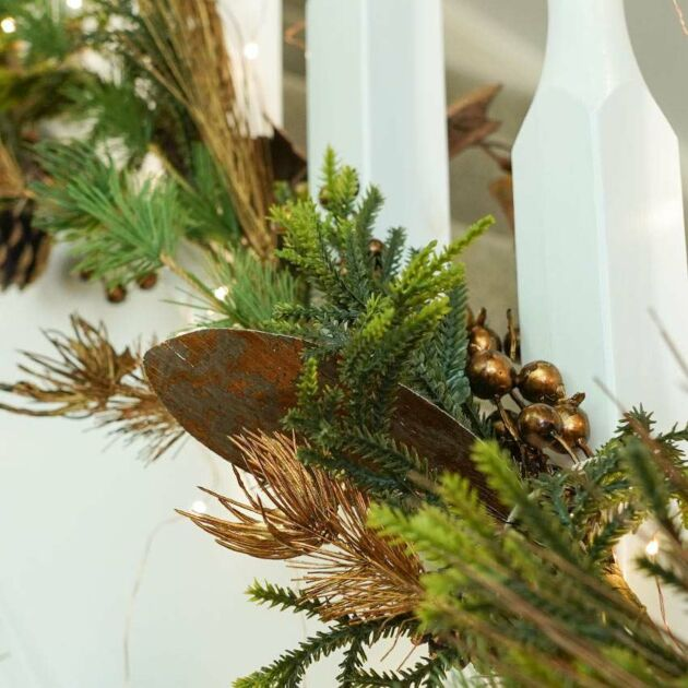 1.5m Copper Ivy Christmas Garland