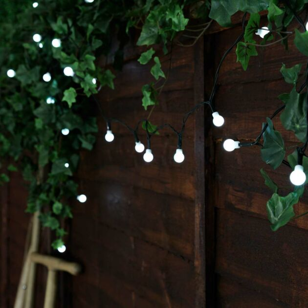 Solar Powered Multi Function Berry LED Fairy Lights
