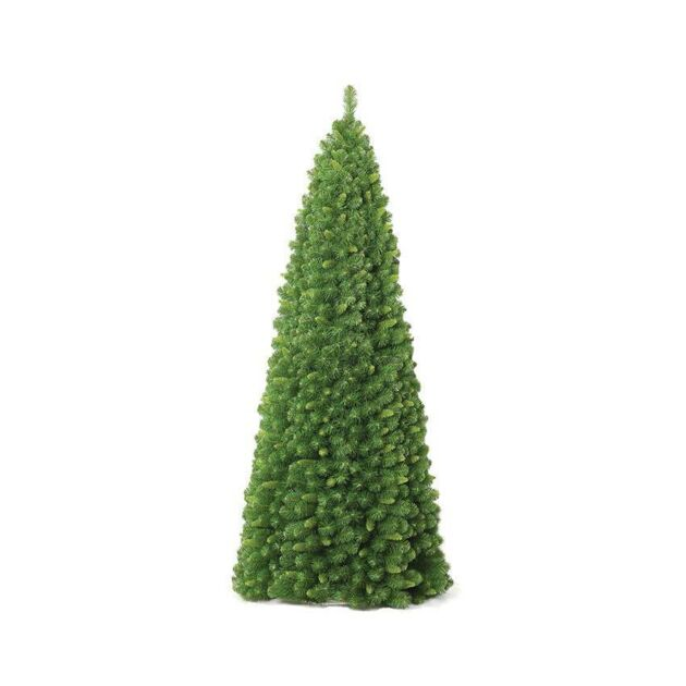 6ft Outdoor Green Artificial Christmas Cone Decoration Tree