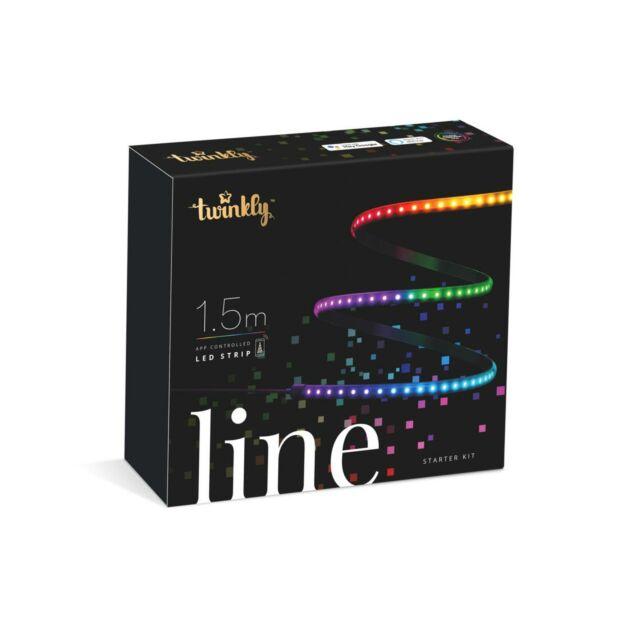 Smart App Controlled Twinkly Indoor Line Strip Light - Gen II