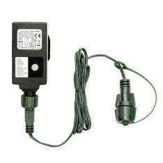 Small Transformer, UK Plug, Green Cable