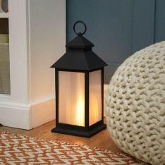31cm Battery Flickering Flame Lantern