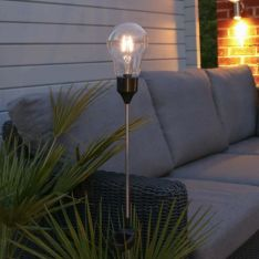 Solar Festoon Filament Effect LED Stake Light