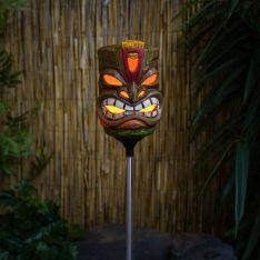 Solar Tiki 'God of Light & Life' Stake Light